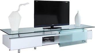 Whiteline Ema TV Stand Media Unit - EC1037-WHT