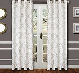 Ashley Furniture Harleigh 84 Embroidered Panel Curtain, Silver