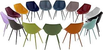 Philippe Starck lago Lacquered Shell And Aluminum Legs Chair By Philippe Starck For Driade