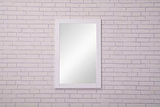 Elegant Lighting Elegant Decor VM-2001 Aqua Contemporary Mirror, 22, White