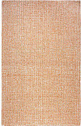 Rizzy Home BR652A Brindleton Hand-Tufted Area Rug, Orange, 26 x 8
