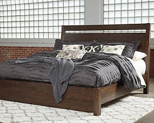 Ashley Furniture Starmore King Panel Bed, Brown