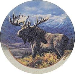 Thirstystone Drink Coaster Set, Cooper Moose