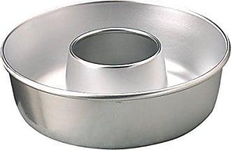 Argent/é 26/cm Argent Pentole Agnelli Moule /à Tarte cylindrique avec Rebord en Aluminium BLTF