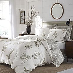 Revman International Stone Cottage Willow Comforter Set, Queen, Tan/Beige, 3 Piece