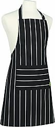 Now Designs Kitchen Style by Now Designs Basic Apron, Butcher Stripe Black