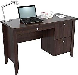 Inval America Inval ES-11203 Writing Desks, Espresso/Wengue