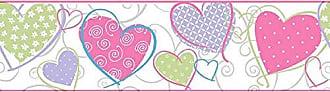 Portodesign Papel de Parede Vinílico Rolo Border Dreamland DR10102 Porto Design Branco