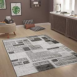 90545af2b74d81 Vimoda Designer Teppich Modern Kariert