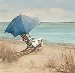 Portfolio Canvas Decor Summer Vacation I by Carol Robinson Wrapped Canvas Wall Art, 35x35
