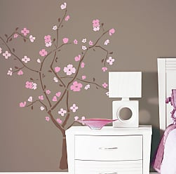 RoomMates Spring Blossom Peel and Stick Giant Wall Decal - 40W x 60H in., Girls - RMK1555GM