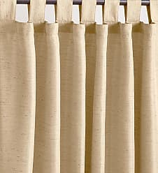 Ricardo Trading Grasscloth Outdoor Curtain Panel with Tab Top, 54W x 108L