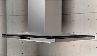 Zephyr 36W in. Layers Island Range Hood with Black Glass - ALL-M90BBX