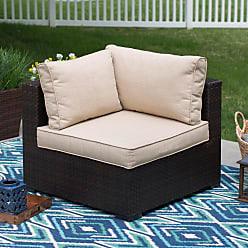 Belham Living Marcella Replacement Short Back Cushion Beige - SH-SBCUSH/BGE