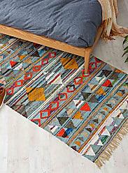 Simons Maison Multicolour triangle rug 120 cm x 180 cm