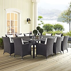 Havenside Home Bocabec 90-inch Outdoor Patio Dining Table (Espresso)