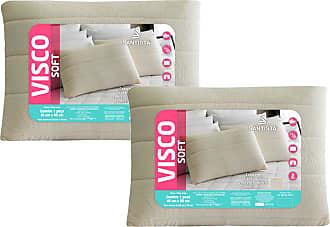 Santista Kit Travesseiros Firme/Extra Firme Visco Soft 2 Peças