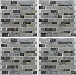 RoomMates Blue Long Stone StickTILES Wall Decals - Set of 4 - TIL3234FLT