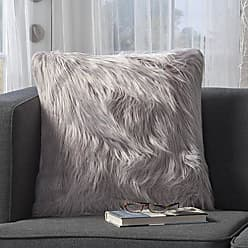 Christopher Knight Home 301700 Carice Furry Deco Throw Pillow (Single), Lavender