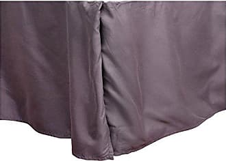 Sweet Home Collection VENDORBSKIRT-T-Gry 1500 Thread Count 14 Drop Microfiber Bed Skirt, Twin, Gray
