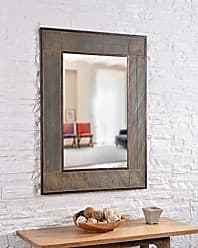 Kenroy Home White River Wall Mirror, Large, Gray