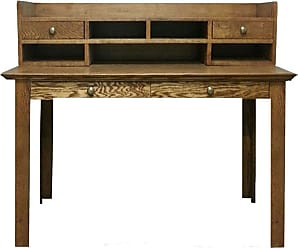 Forest Designs Customizable Traditional 1112 Laptop Writing Desk - 1112-T