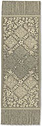 Heritage Lace Chantilly 14x48 Gold Fringed Table Runner, 48x14