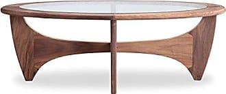 Kardiel Mid-Century Modern G-Plan Plywood Coffee Table, Walnut Wood