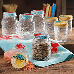The Pioneer Woman Betsy 8 and 16 Ounce Storage Jars - Set of 8, Womens - 1D644F9D798F416090227BF5E0C580F0