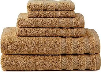 Westpoint Home Martex Egyptian with DryFast 6 Piece Towel Set, Cobblestone