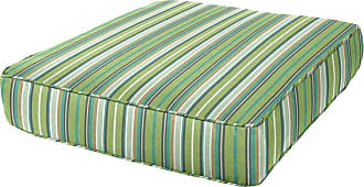 Cushion Source 24 x 27 in. Striped Deep Seating Sunbrella Chair Cushion Foster Surfside - KFUWB-56049