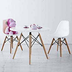 Rivatti Conjunto Mesa e 2 Cadeiras Infantil Eiffel Eames - DSW - Branca