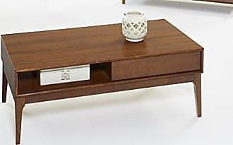 Progressive Furniture T106-01 Mid-Mod Cocktail Table, Cinnamon