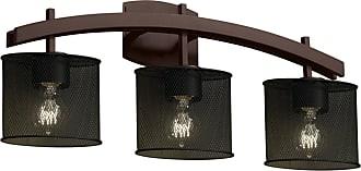 Justice Design Group Archway 8593-30 Vanity Light - MSH-8593-30-DBRZ