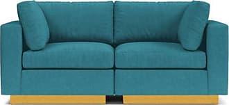 Apt2B Taylor Plush 2pc Modular Sofa - Leg Finish: Natural