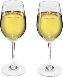 357cce33194a0e Viva Haushaltswaren 2 x bruchfestes Weißweinglas 250 ml aus hochwertigem  Kunststoff