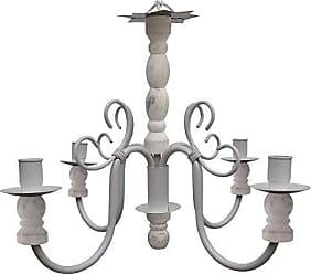 Libertas Rosas Artesanato Luminaria Torneada De Ferro E Madeira para Decoração de Sala Jantar