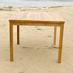 Willow Creek Designs Outdoor Willow Creek Designs Monterey Teak Square Dining Table, Patio Furniture - WC-181-TEAK