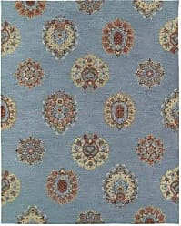 Kaleen Rugs Brooklyn Collection 5301-56 Spa Hand Tufted 2 x 3 Rug