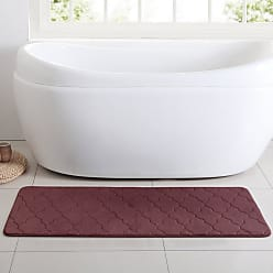 VCNY Amadora Memory Foam Bath Runner Burgundy - AM4-RUN-2460-GP-BU
