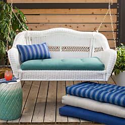 Belham Living Catalina Outdoor Porch Swing Cushion Stripe Blue - CATALINA72