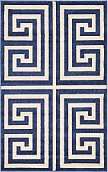 Unique Loom 3123801 Area Rug, 3 x 5 Rectangle, Navy Blue