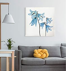 WEXFORD HOME Gorgeous Blue IV Gallery Wrapped Canvas Wall Art, 10x10