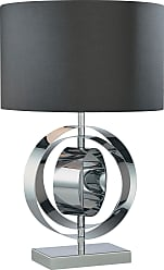George Kovacs P745-077 Table Lamp in Chrome finish with Black
