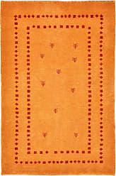 Nain Trading Persian Gabbeh Loribaft Rug 32x22 Modern/Design Light Brown/Orange (Hand-Knotted, Wool, Iran/Persia)