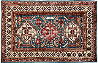 Solo Rugs Hand Knotted Area Rug 42 x 64 Red