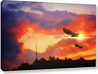 ArtWall Dragos Dumitrascus Eve of War Gallery Wrapped Canvas Artwork, 16 x 24