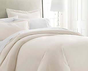iEnjoy Home IEH Queen-Ivory ((3 Piece) Duvet Cover Set