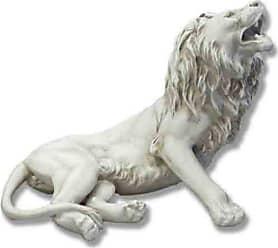 Orlandi Statuary Majestic King Lion Garden Statue - F335AWAKENINGLION