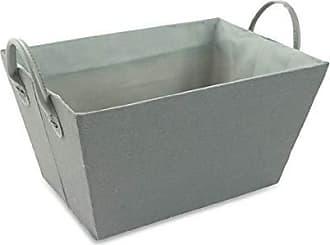 mediano Galileo Casa 2423416/cesta rectangular Blanda 30/x 20/x 14/cm gris